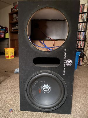Memphis box with working Memphis 12 in Sub for Sale in Smyrna, TN