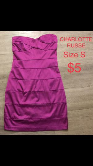 CHARLOTTE RUSSE, Purple Mini Dress, Size S for Sale in Phoenix, AZ