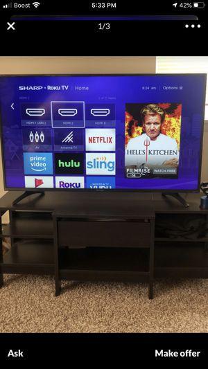 50 in sharp ultra HD roku tv for Sale in Philadelphia, PA
