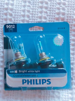 Philips 9012CVB2 CrystalVision ultra Upgrade Headlight Bulb (9012 HIR2) for Sale in Portland, OR