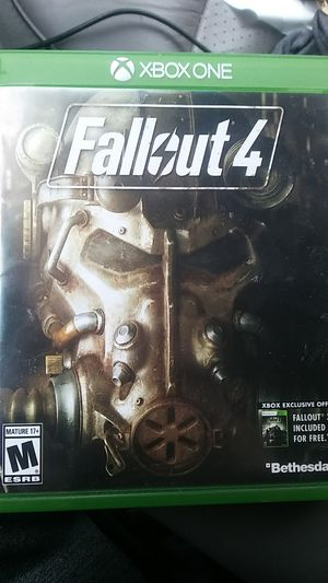 Fallout 4, for xbox one for Sale in Bunker Hill, WV