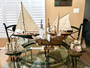 VINTAGE Wooden boats collection for Sale in Purcellville, VA
