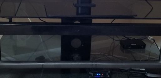 Glass Tv Table, Black Color for Sale in Marysville,  OH
