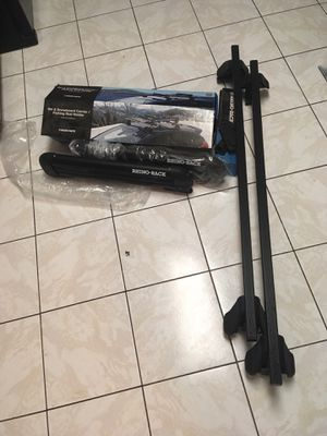 Complete Roof Rack System with ski/board holder for Sale in West Long Branch, NJ