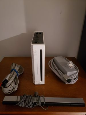 Nintendo Wii system with one game for Sale in Queens, NY