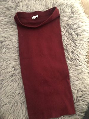 Burgundy tube dress for Sale in Los Angeles, CA