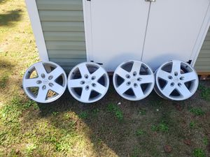 SET OF 17 INCH JEEP WHEELS for Sale in Lawrenceville, GA
