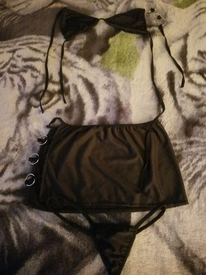 A Woman's Black Nighty with Thongs. for Sale in Bangor, ME