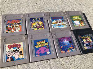 Original Nintendo Gameboy Games Super Mario Land, Kirby's Dream Land & More for Sale in Las Vegas, NV