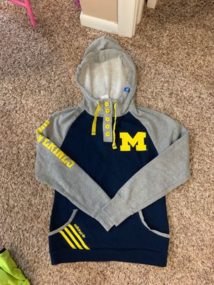 Small women's adidas Michigan hoodie for Sale in Dearborn, MI