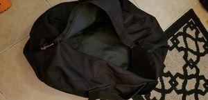 Large black plain duffle bag. Gently used,Clean $10 for Sale in Las Vegas, NV