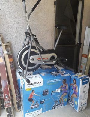 FREE DELIVERY. Weslo cross cycler exercise bike. IN THE BOX for Sale in Las Vegas, NV