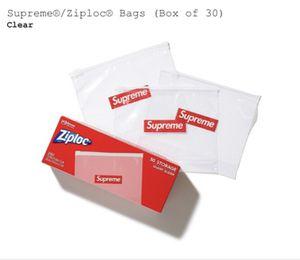 Supreme ZipLoc Bags (Box Of 30) for Sale in Mundelein, IL