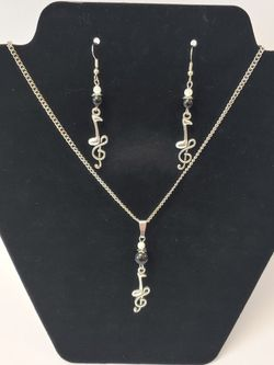Note/Treble Clef Jewelry Sets for Sale in Lorena,  TX