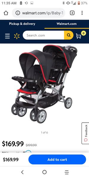 Baby trend double stroller for Sale in Stockton, CA