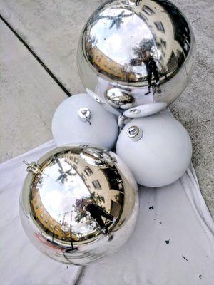4 GIGANTIC CHRISTMAS CRAFT BALLS for Sale in Port St. Lucie, FL