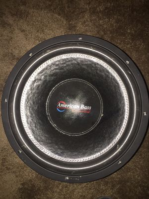 American bass XFL 15 inch for Sale in Cleveland, OH