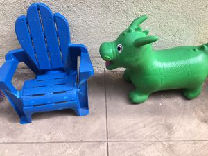 Kids chair and waddle jumper for Sale in San Diego, CA