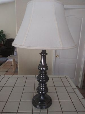 Lamp- 30* tall w/shade for Sale in Modesto, CA