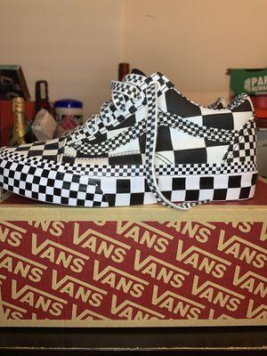 VANS Old Skool All Over Checker Black/White Checkerboard for Sale in Needham, MA