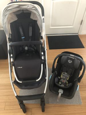 Uppababy Cruz stroller and Uppababy Mesa Infant Car seat for Sale in Los Angeles, CA