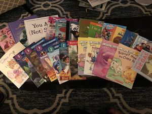 26 kids books, different reading levels for Sale in Fountain Valley, CA