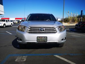 Toyota highlander 2008. Clean title. Clean carfax for Sale in San Diego, CA