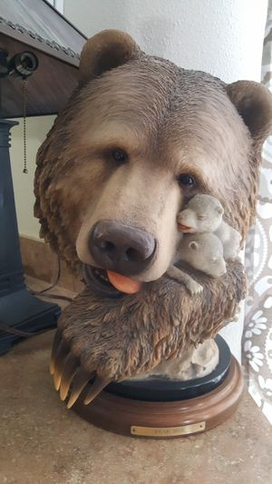 Collectable Bear Hug - Limited Edition Bear Statue for Sale in Auburn, WA