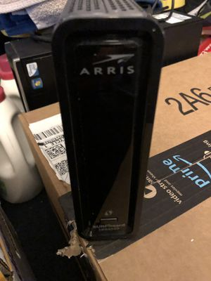 Arris surfboard SBG6580 modem/router for Sale in Visalia, CA
