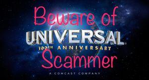 Universal Studio Ticketd Beware Scammer Alert. Mike Williams for Sale in Tampa, FL