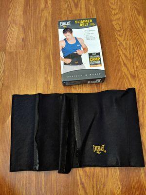 Everlast Slimmer Belt with Zippers Exercise Belt for Sale in Dundalk, MD
