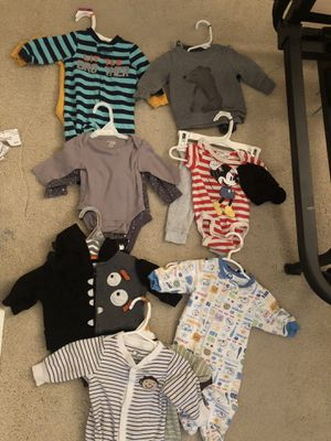 Baby Boy Clothing- 0 to 3 months for Sale in Capitol Heights, MD