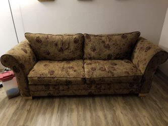 Couch with full size pull out bed for Sale in Denver,  CO