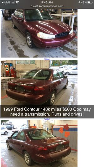 1999 ford contour for Sale in Shoreline, WA