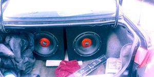 """Dual flip out touch screen. With amp and 2 12"""" subs for Sale in Elkins, WV"""
