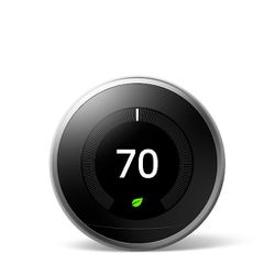 Google Nest Thermostat 3rd Gen Stainless Steel 20 AVAILABLE for Sale in San Jose,  CA