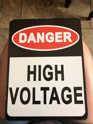Danger room decor sign for Sale in Laveen Village, AZ