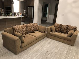 Couches (semi new) for Sale in Springtown, TX