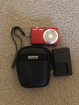 Nikon Coolpix S203 with Case for Sale in Orlando, FL