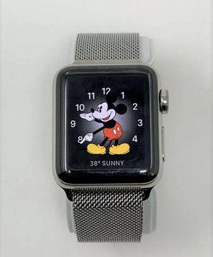 Apple Watch Series 2 38mm Stainless Steel Case Milanese Loop Band - Stainless Steel for Sale in Katy, TX