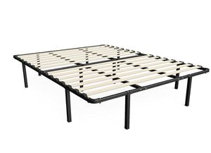 Zinus Cynthia 14 inch bed frame, mattress foundation/ platform bed frame/ box spring replacement, King size for Sale in Alexandria, VA