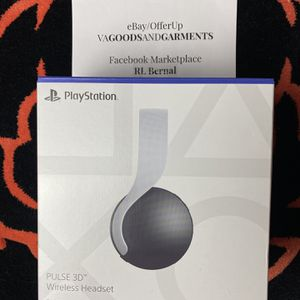 Sony PlayStation 5 Pulse 3D Wireless Headset Headphones - BRAND NEW SEALED PS5 for Sale in Virginia Beach, VA