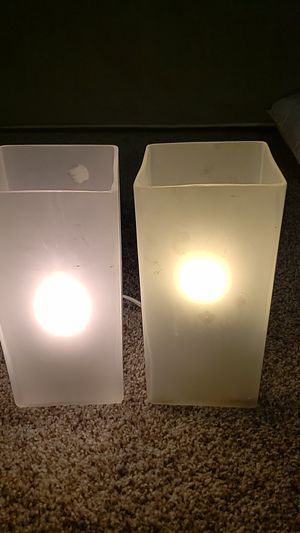 Two matching lamps for Sale in Krum, TX