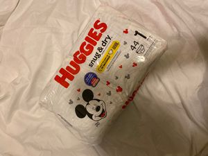 Huggies diapers size 1 for Sale in AZ, US