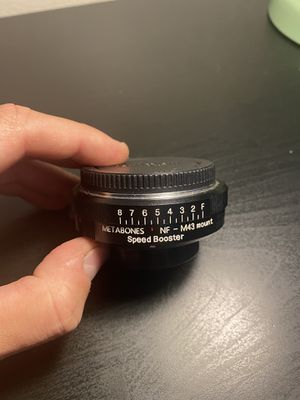Metabones speedbooster nf to m43 lens adapter for Sale in Tempe, AZ