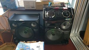 2500w giga sound beat system for Sale in Newark, OH