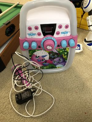 Hatchimals Karaoke Machine with microphone for Sale in Rockville, MD