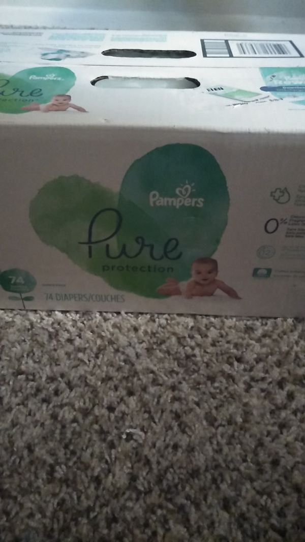 Pure Pampers Protection Diapers