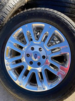 """Ford 20"""" wheels and tires for Sale in Colorado Springs,  CO"""