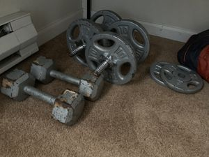 Assorted free weights for Sale in Portland, OR